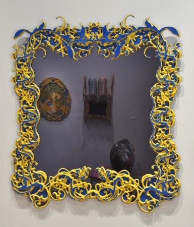 Grande Vanitas, 2011 plastic 46 x 41 inches