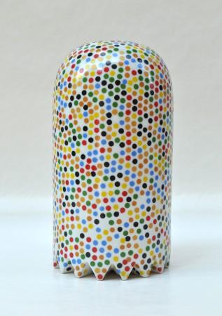 Confetti Medium Ghost I, 2008 ceramic 11 x 6 x 6 inches