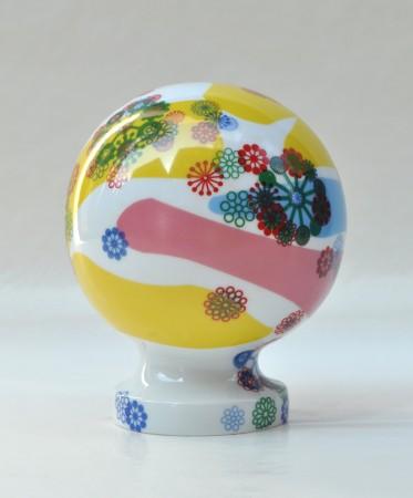 Rave Globe, 2011 ceramic 7 x 6 x 6 inches