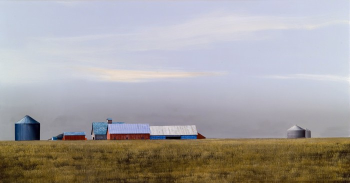 Michael Gregory, American Sequence, 2008 oil on canvas 44 x 84 inches