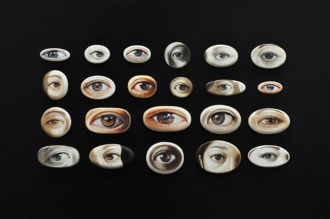 Gregory Halili, 2010 watercolor on Ivory 5 x 45 inches