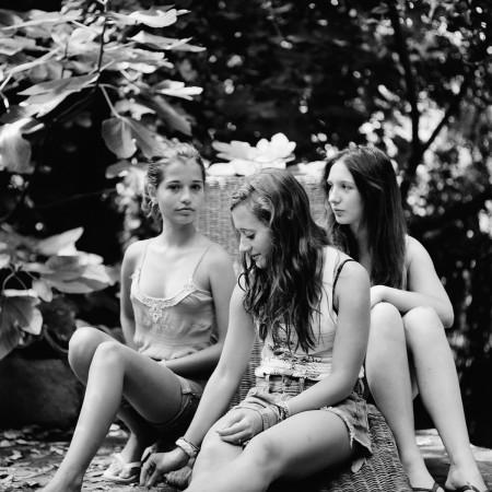 Lisea Lyons, Untitled (girls in Deia) 2010 c-print 9 x 9 inches Edition 1/5
