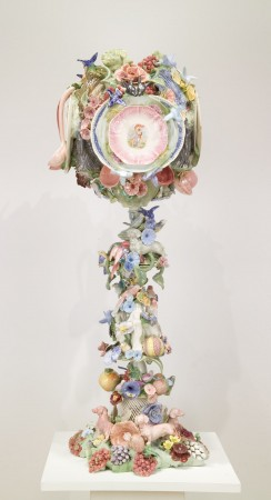 Goblet for Dionysus, 2010 ceramic 53 x 24 inches