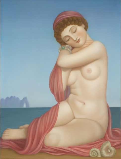 Lullaby, 2013 oil on panel 24 × 18 inches