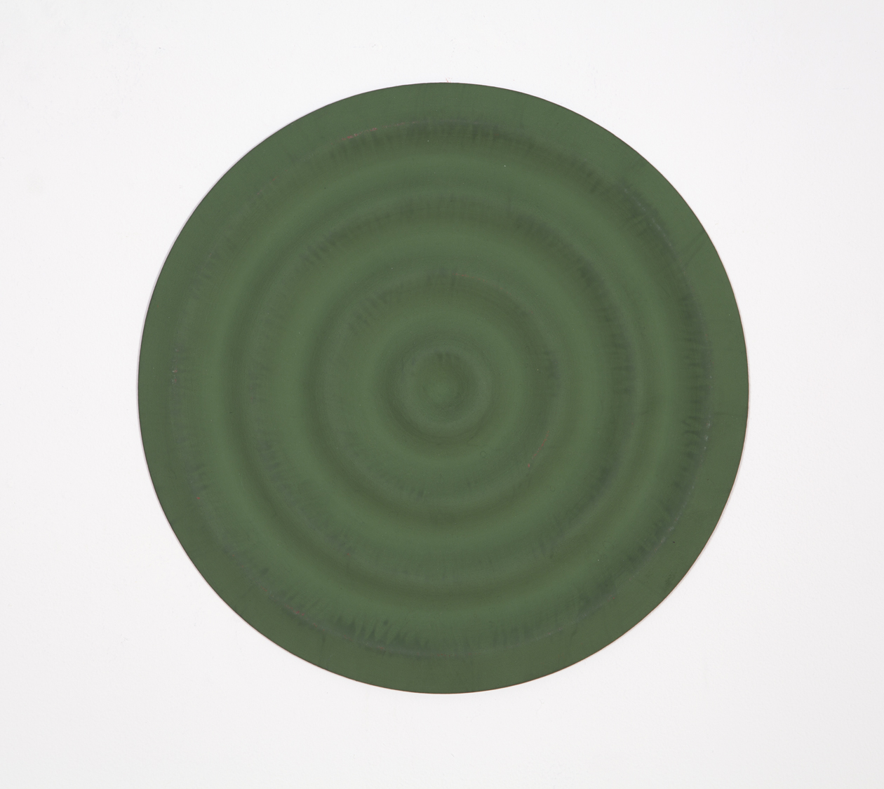 Copy of Rupert Deese, Four Wavelets no.1, 1998 oil on wood 12 inch diameter