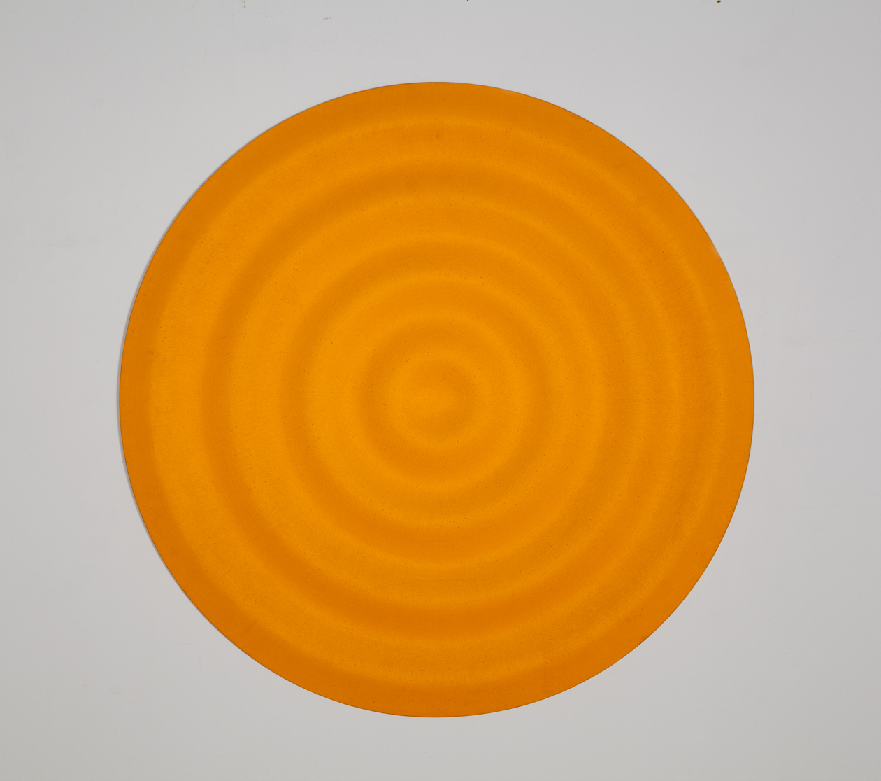 Copy of Rupert Deese, Four Waves I, 1997 oil on wood 32 inch diameter