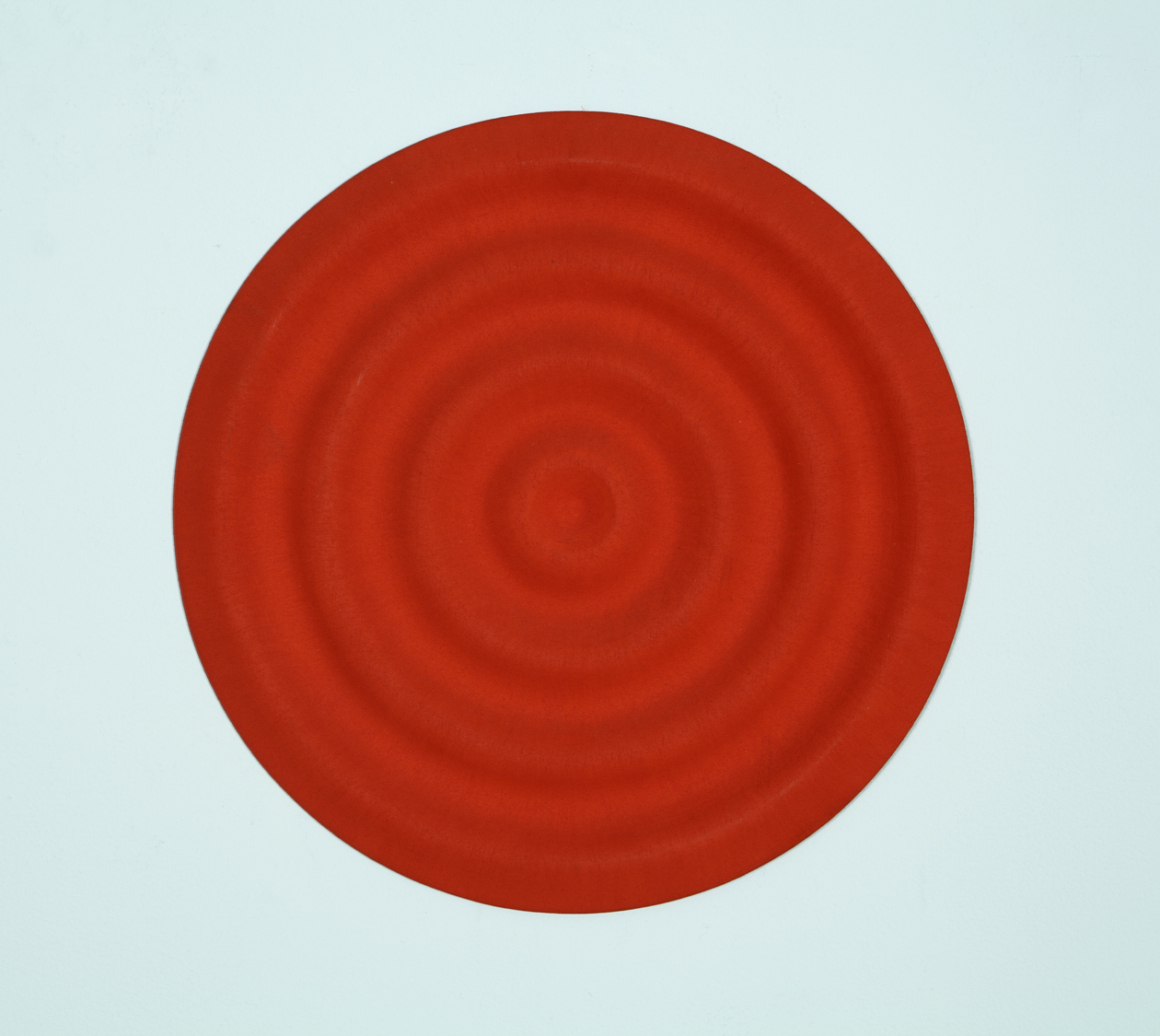 Copy of Rupert Deese, Four Wavelets no.3, 1998 oil on wood 12 inch diameter