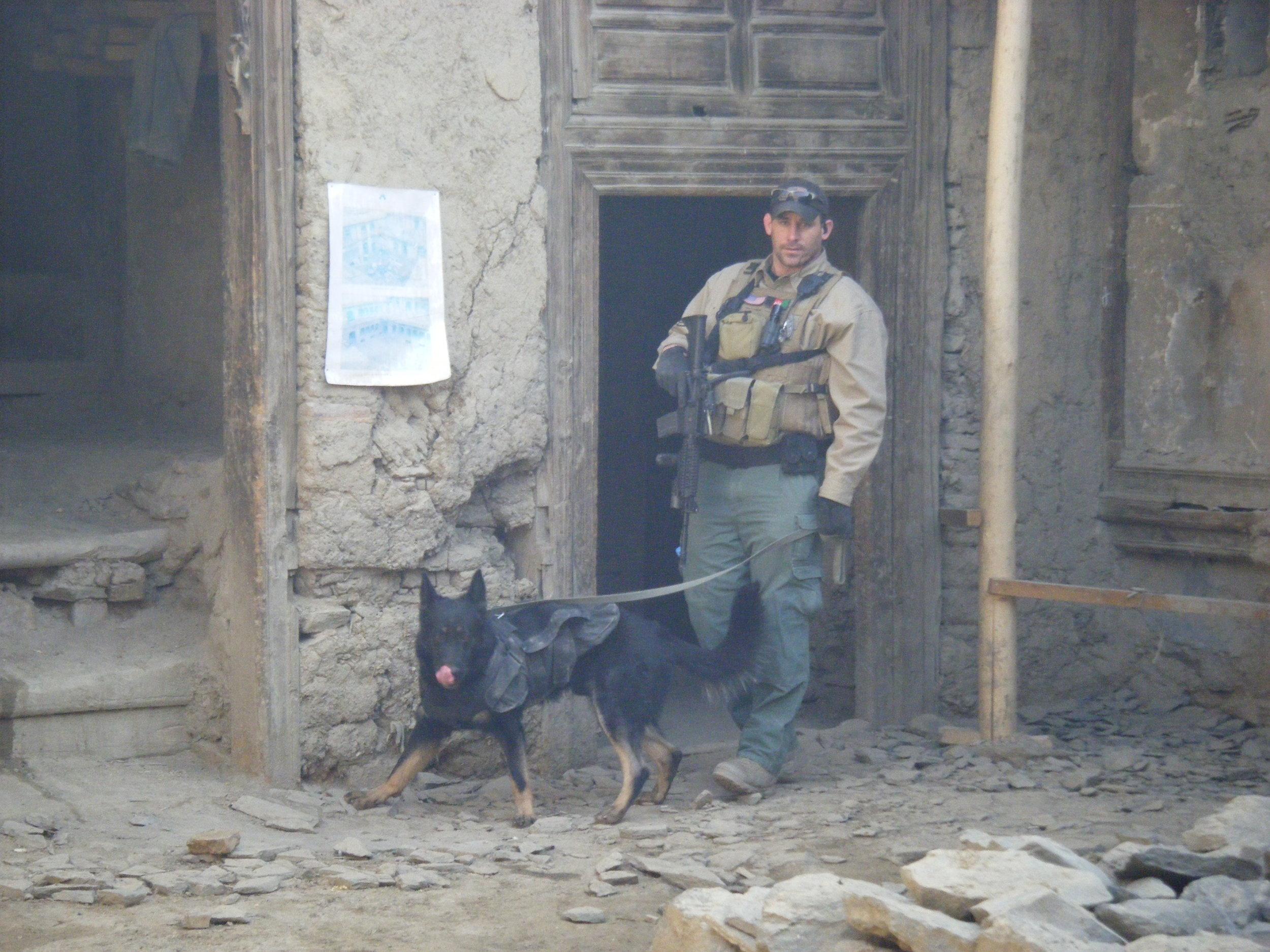 Dan Hughes in Afghanistan