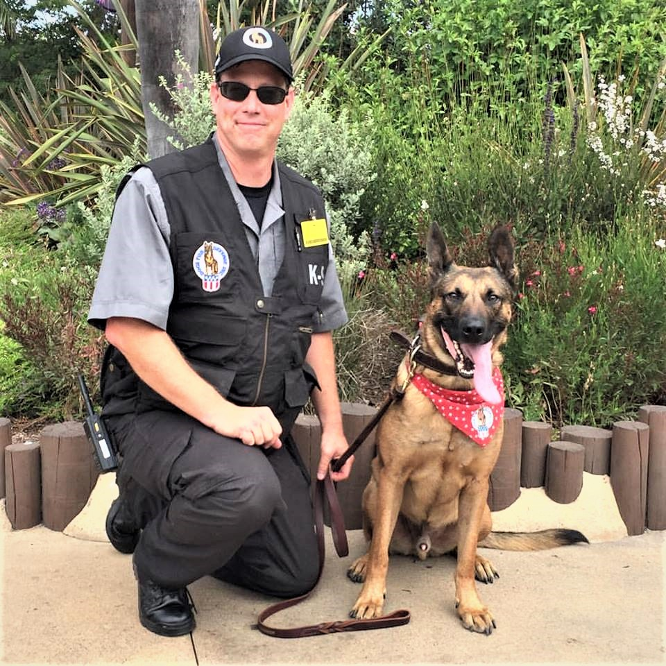 Jason Stinson - California Law Enforcement OfficerCertifier / TSA 3PK9 EvaluatorK-9 Trainer & Handler