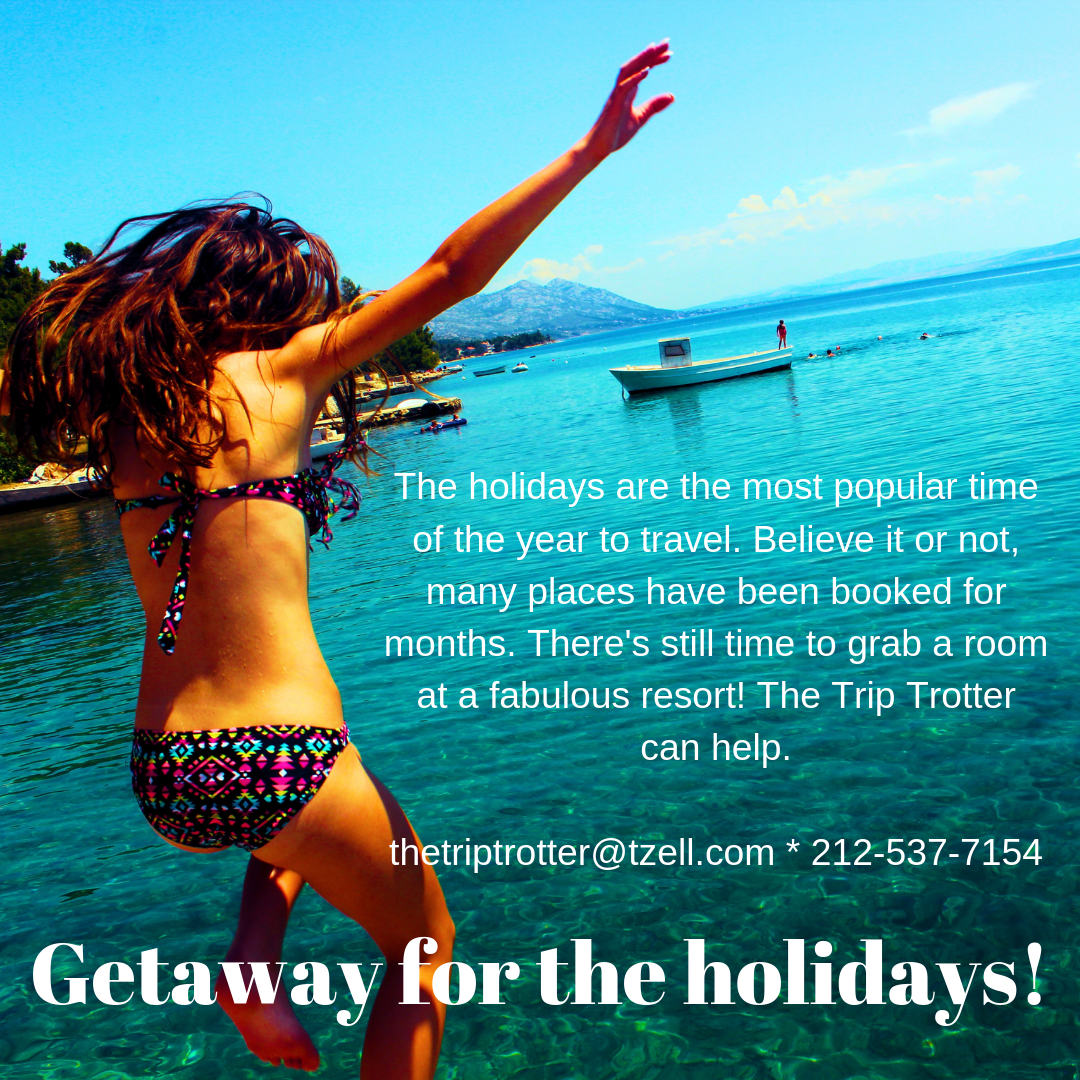 Getaway for the holidays!