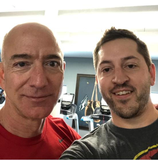 Jeff Bezos & Mike Apostal