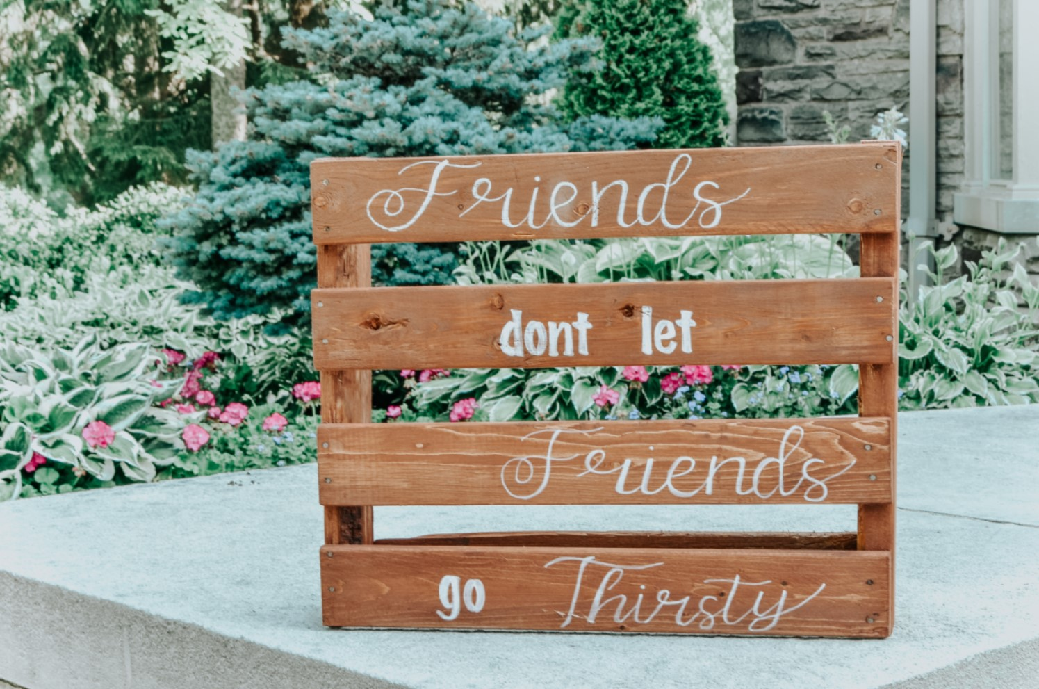 Find Me Lettering Wooden Reception Signage.jpg