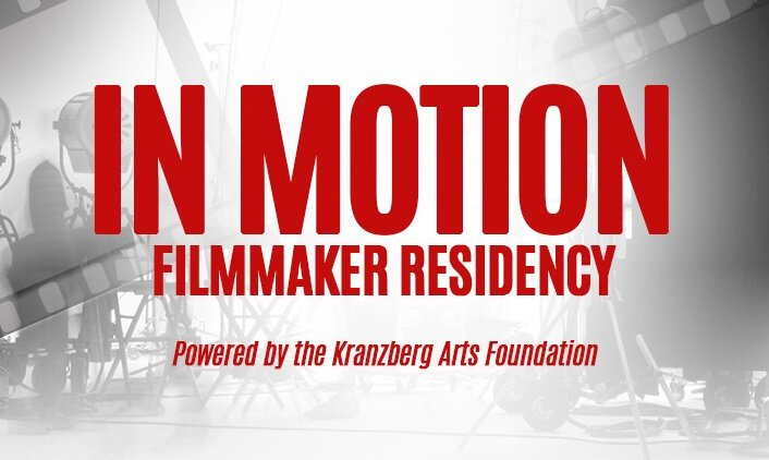 In Motion Filmmaker Residency Powered by the Kranzberg Arts Foundation! - As a ticket purchaser, you can apply for the opportunity to advance your career by gaining access to many of the Kranzberg Arts Foundation's vast resources for one year. This will include access to the office space needed to write and develop your projects, various locations to shoot your projects, limited marketing support, and state of the art venues to screen your projects for one year. You must purchase a ticket to be eligible to apply.