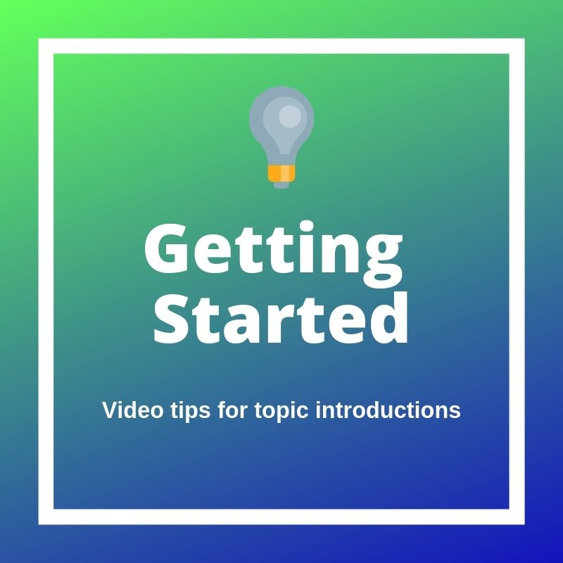 Getting Started Videos