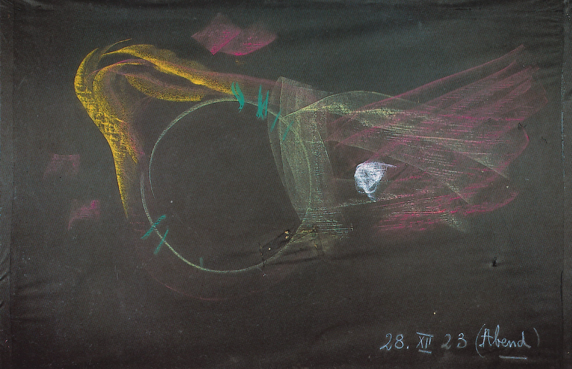 """Extraído do livro  """"Rudolf Steiner en el Museo Nacional de Bellas Artes"""" .  Un Éfeso espiritual , 28 de deciembre de 1923"""