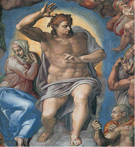 Michelangelo – afresco da Capela Sistina Roma