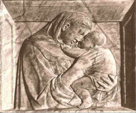 Donatello – Madonna di casa Pazzi Staaliche Museen – Berlin