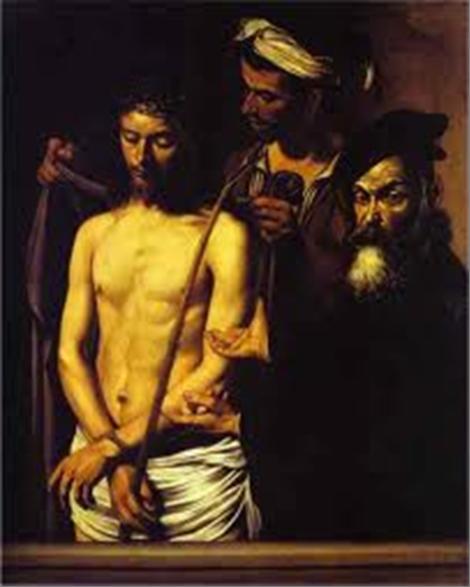 Ecce Homo – Caravaggio1600 = Palazzo Rosso, Genoa, Italy