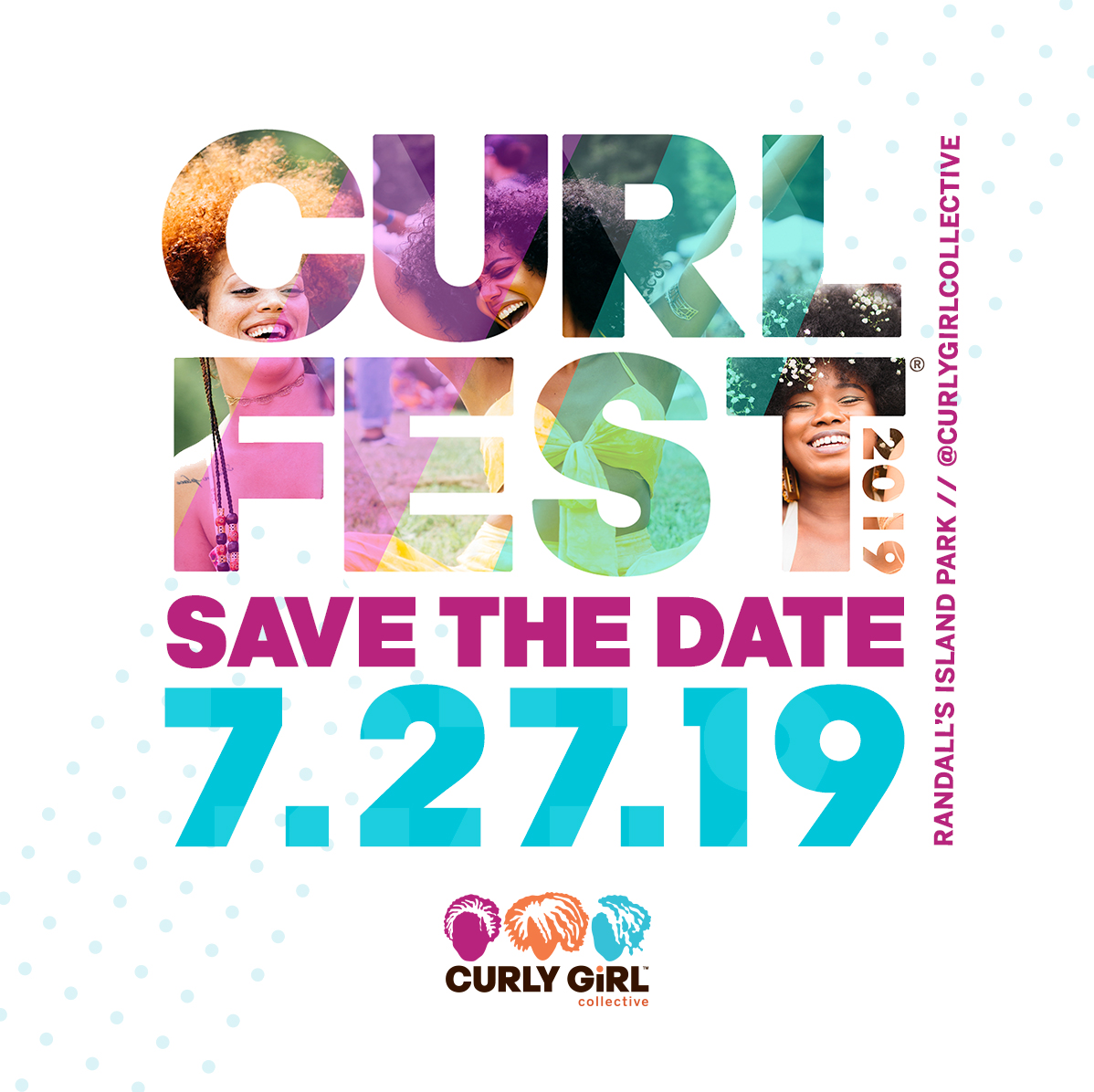 CURLFEST New York - Saturday July 27, 201912:00 PM - 7:00 PMRandall's Island ParkGet Directions