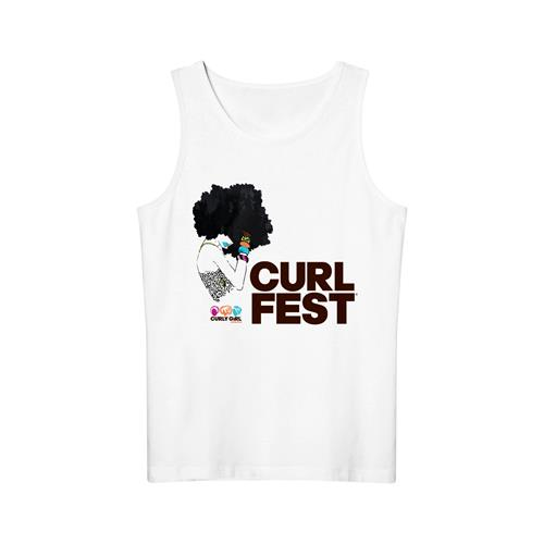 CURLFEST Fro Girl Tank $25
