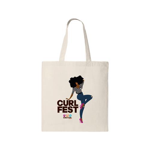 CURLFEST Carefree Curls Tote $20