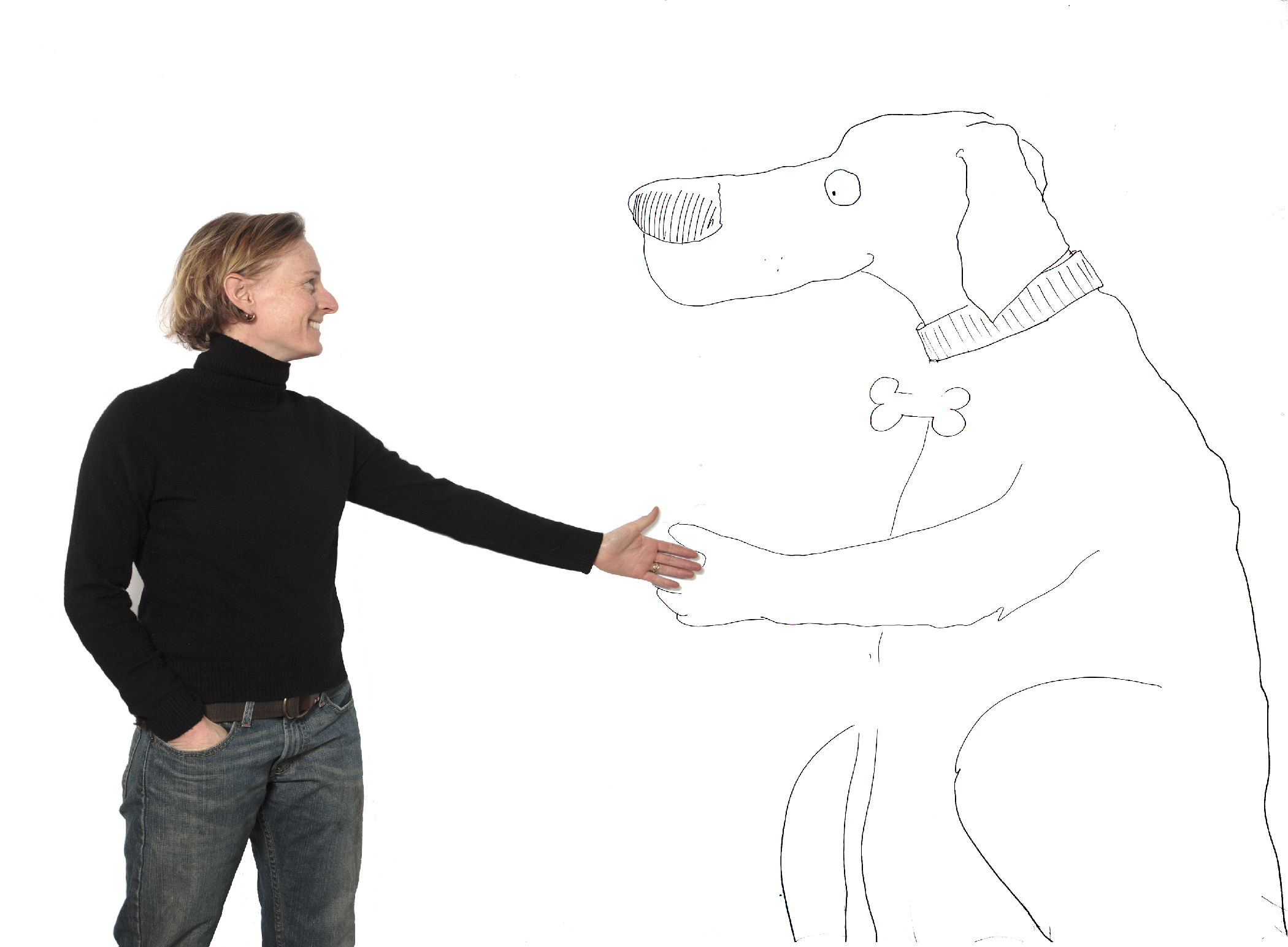 polar-dog-shaking-hands-hilary-price-comics-cartoons-cartoon-rhymeswithorange-rhymes-with-orange-speaker-storyteller-cartoonist-teacher