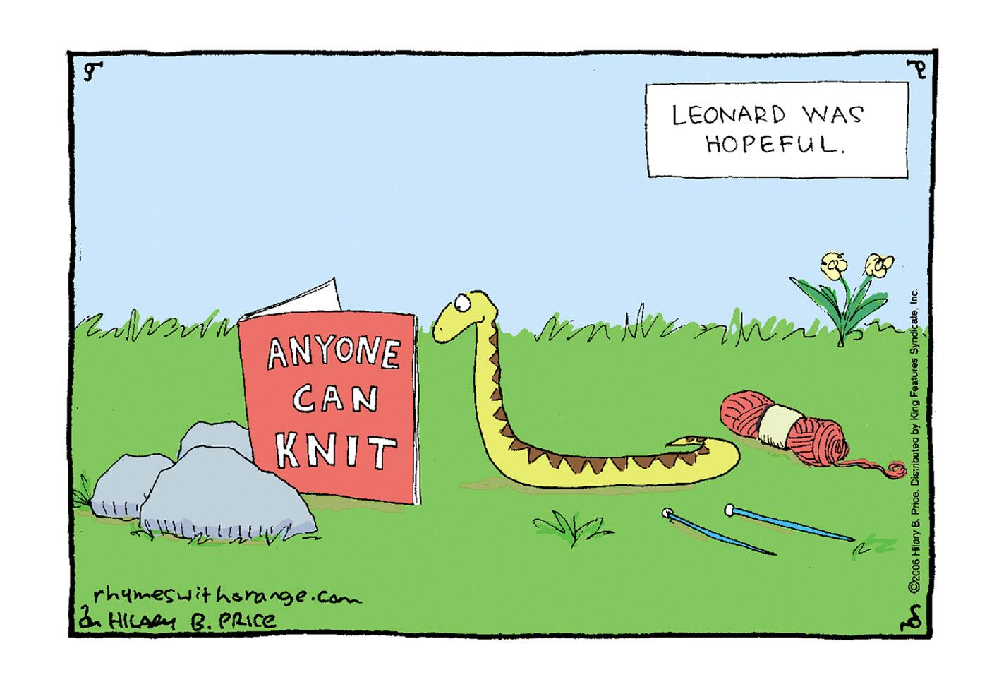 snake-knitting-knit-leonard-was-hopeful-hilary-price-comics-cartoons-cartoon-rhymeswithorange-rhymes-with-orange-speaker-storyteller-cartoonist-teacher