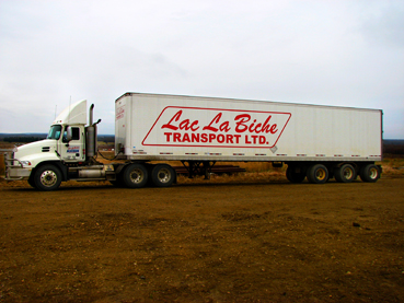 Lac La Biche Transport Ltd.   Lac La Biche Transport Ltd. has been providing Freight , Oilfield Hauling , and Rig Moving services to North Eastern Alberta since 1953.  Our goal is to provide our customers with high quality , competitively priced services in these fields.
