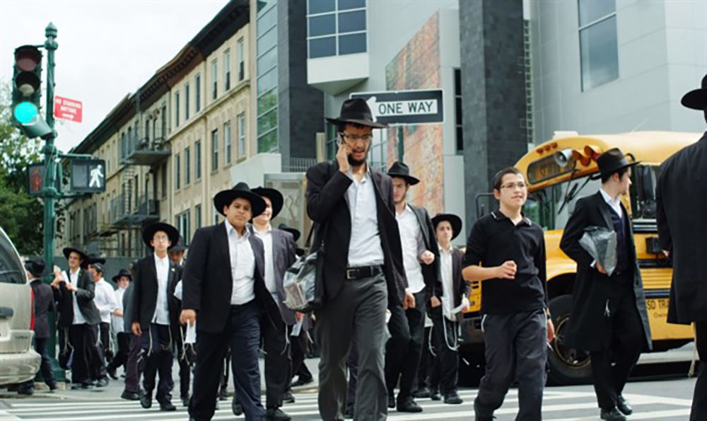 Jews were violently mugged Monday morning in three separate incidents that took place on streets in Williamsburg, Brooklyn, CBS New York reported. Photo Credit: Flash 90