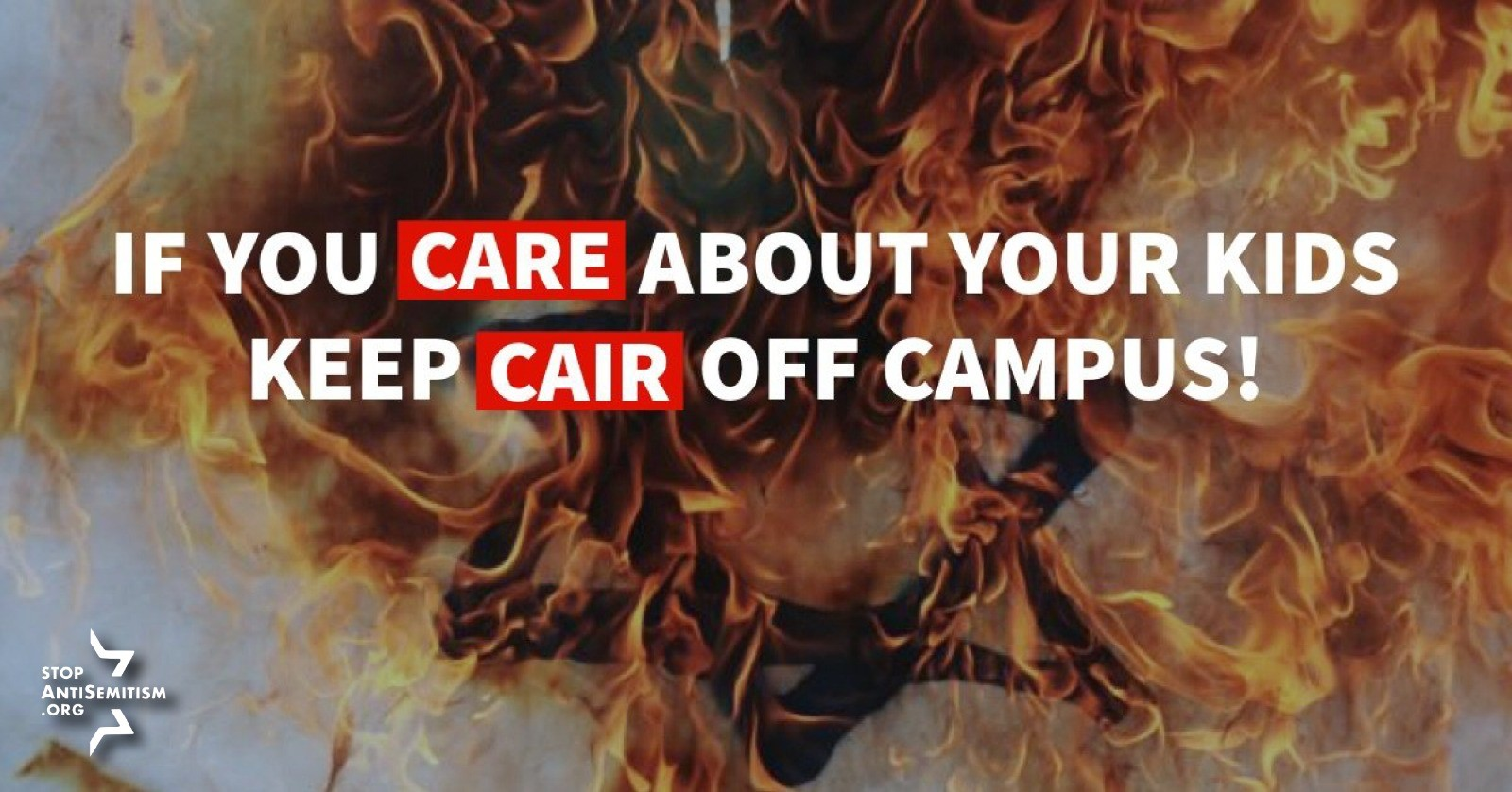 Take Action - Support our call keep terror affiliated CAIR off U.S. campuses. Sign and share our current petition.