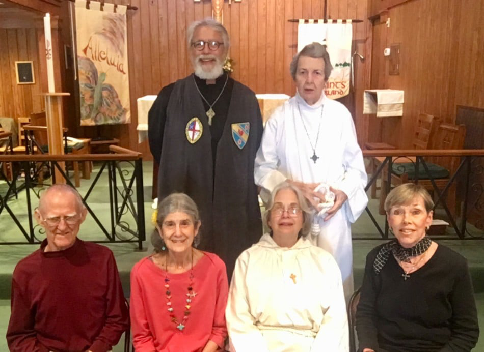 Church Sacristans - Will Strong, Betsy Strong, George Anne Inglis, Mimi Ferrell, Art Worden, Comer Meadows Immel