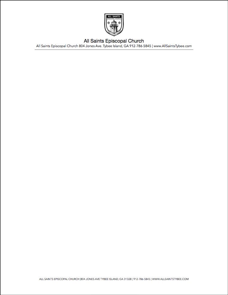 Word Letterhead - Word Document