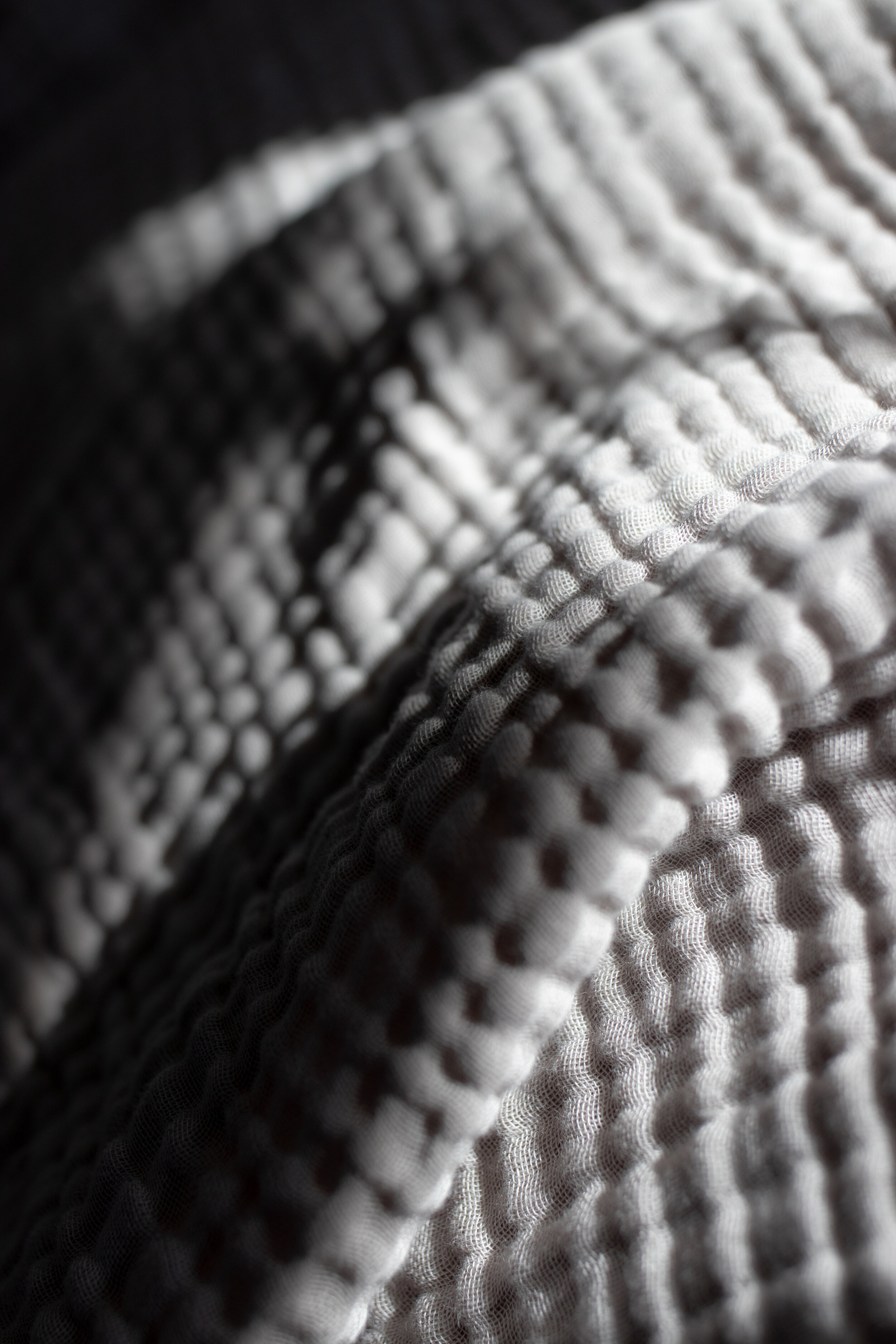 Light and shadows on my favorite  H+M  throw blanket