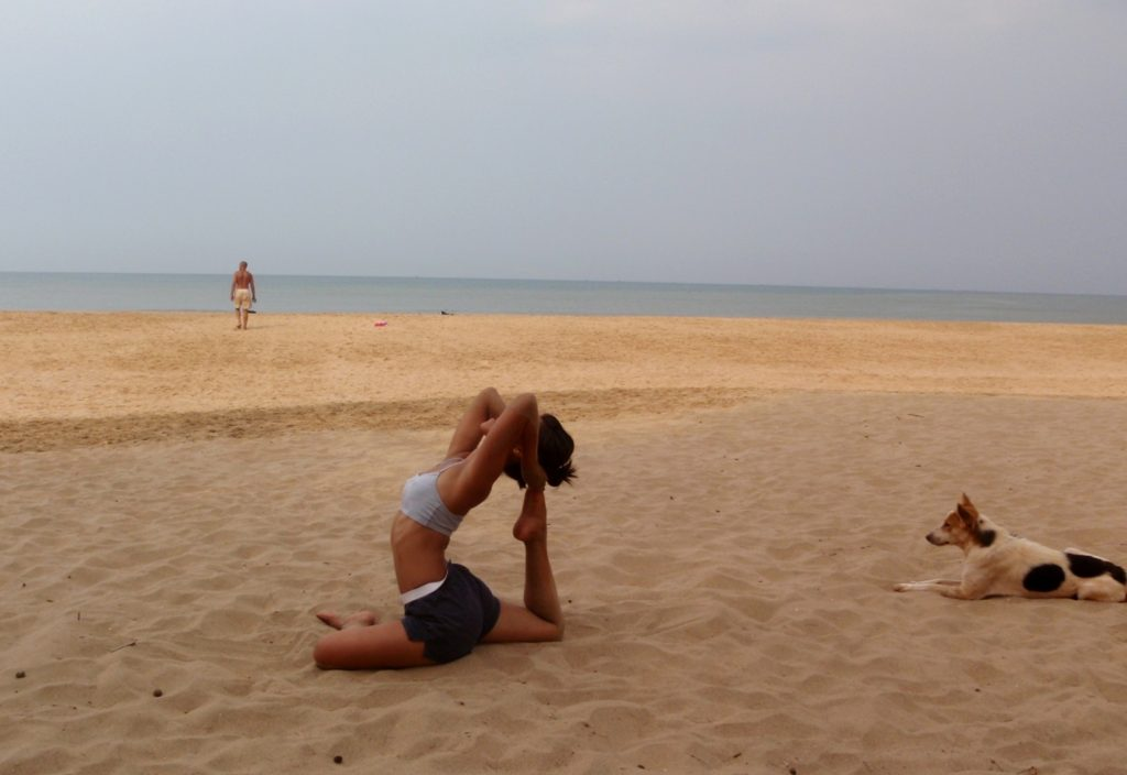 Yoga on Beaches of Agonda -