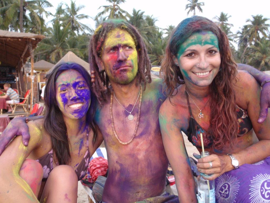 Celebrating Holi -Festival of Colors - Palolem