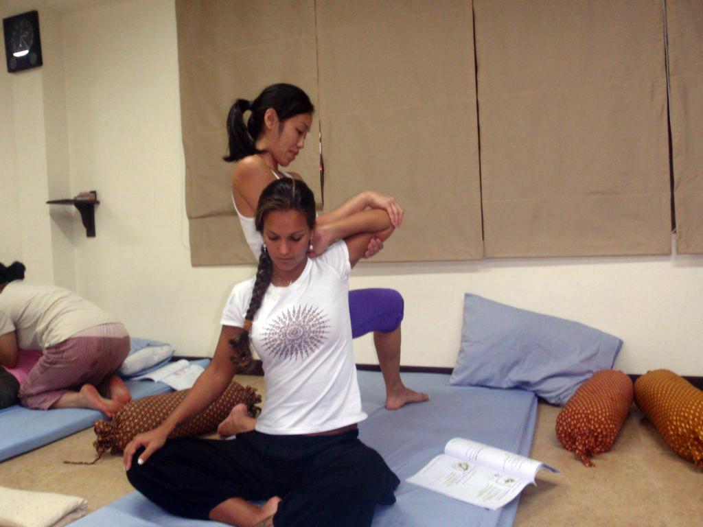 Thai Yoga Training at ITM - Chiang Mai