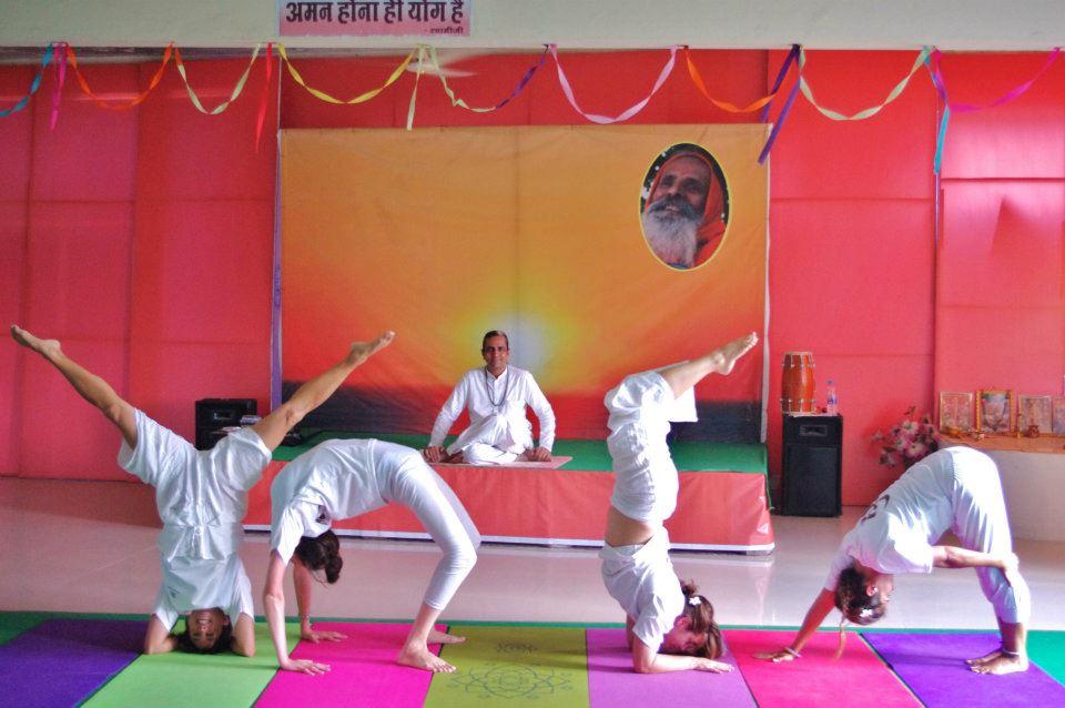 We love yoga! - Paramanand Institute, Indore