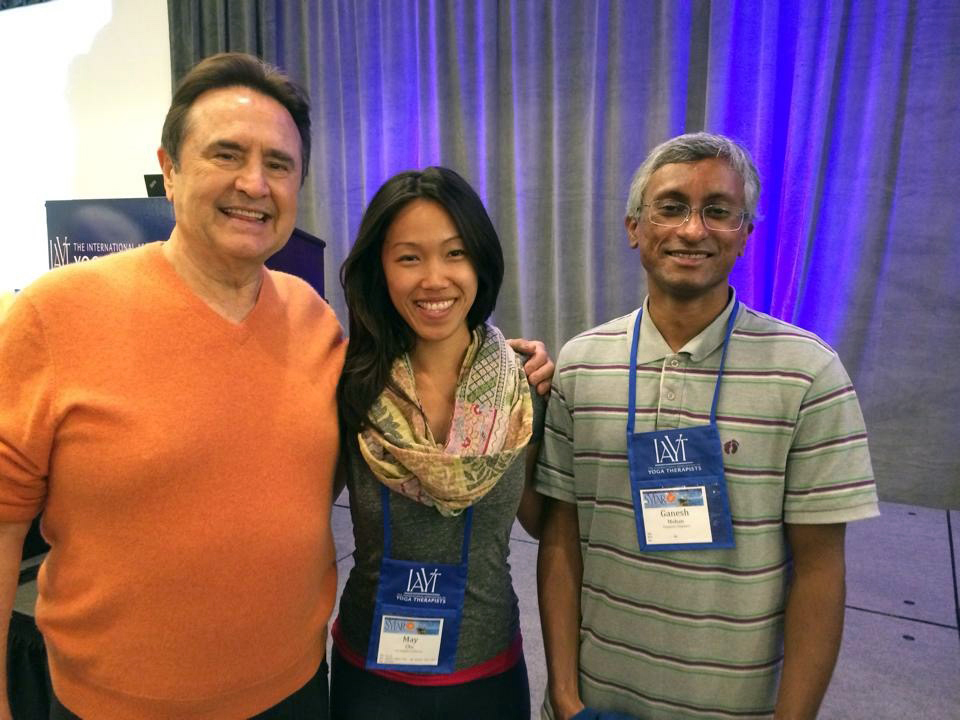Mentor - Larry Payne andDr. Ganesh Mohan - Symposium on Yoga Therapy and Research