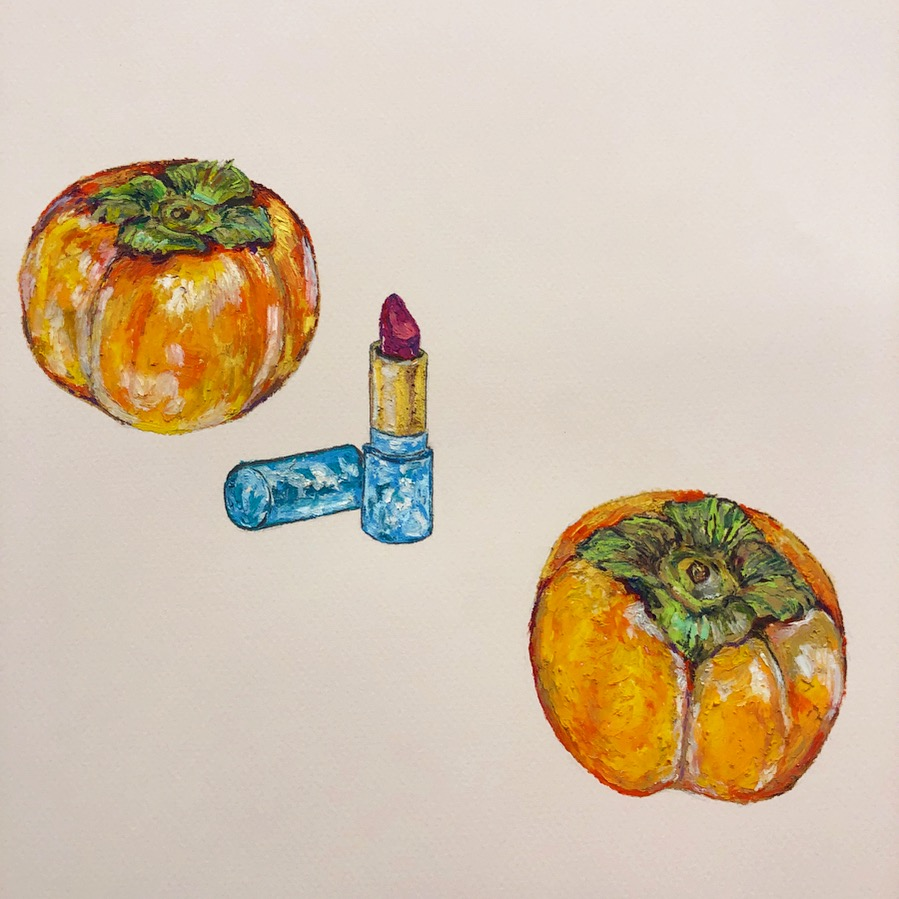 Lipstick with Persimmons Oil