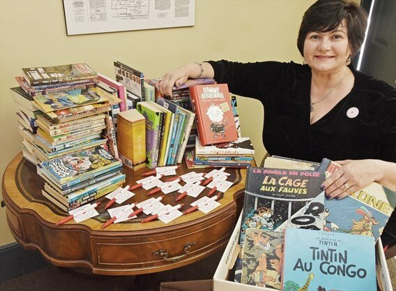 Josephine Vaccaro-Chang is running a book drive for the British Virgin Islands at the Open House for Women in Business event. Dec 20, 2019 - Steve Somerville/Torstar