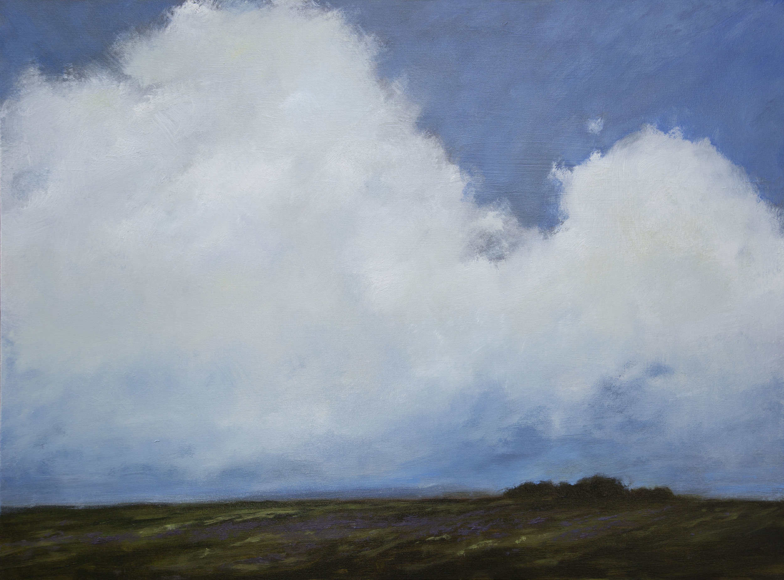 Beauty of Distance 30x40 inches oil on canvas