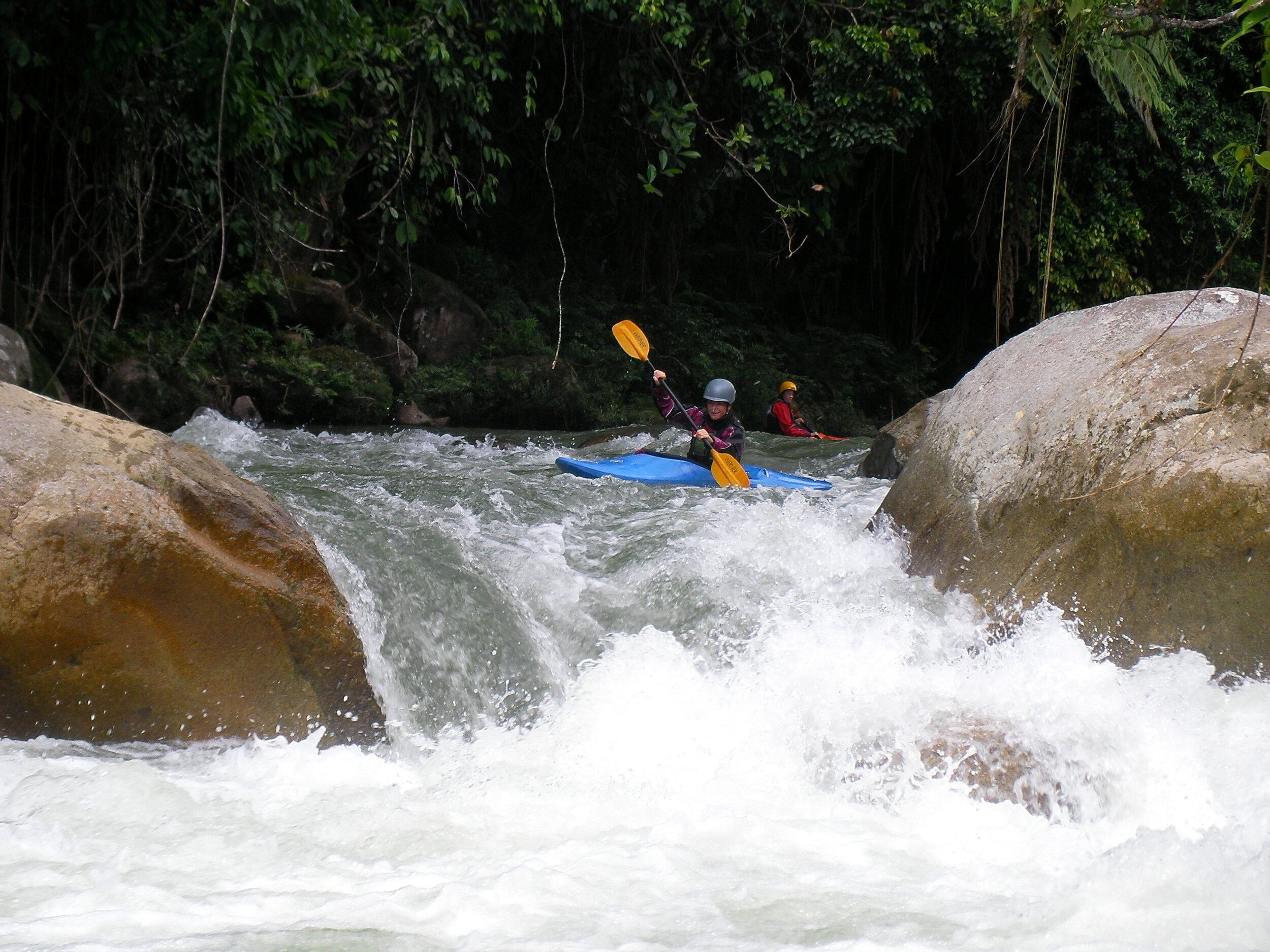 UPPER MISSAHUALLI BOOF SESSIONS < THE PERFECT PLACE TO PRACTICE AND PERFECT YOUR BOOF > WARM WATER CREEKING .