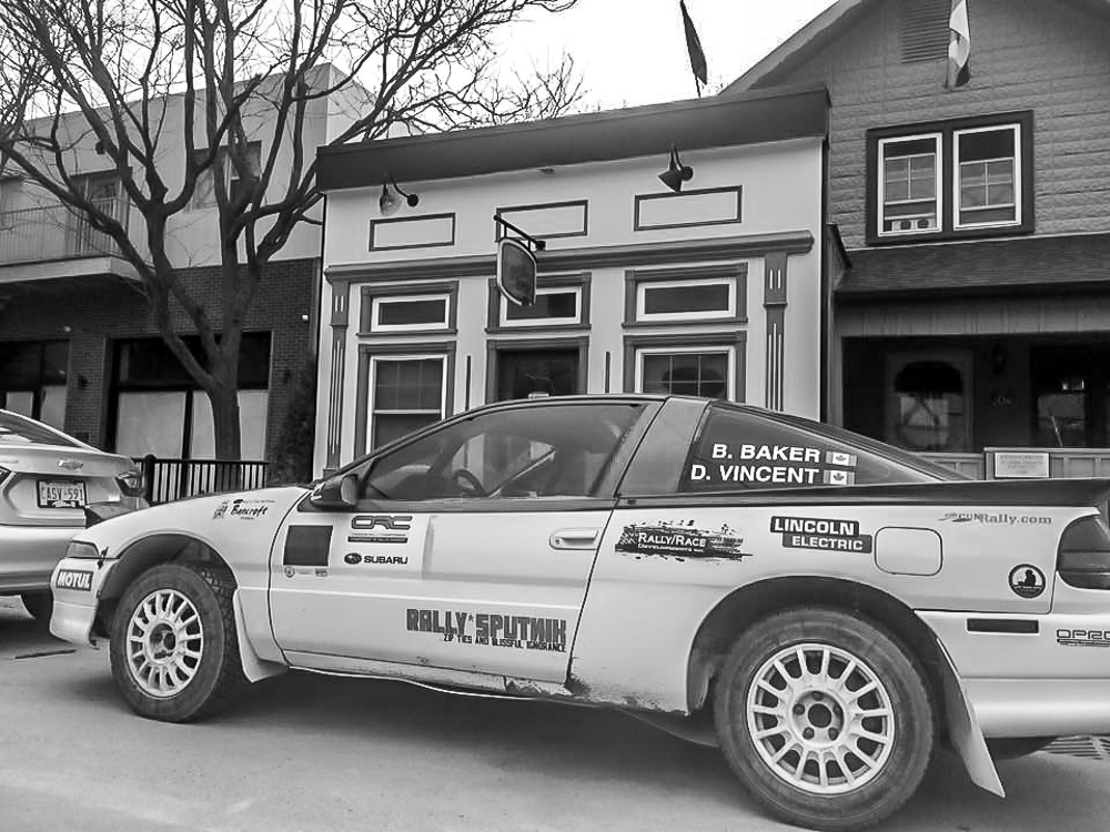 Rally Drivers welcome at Grackle Coffee at Schomberg