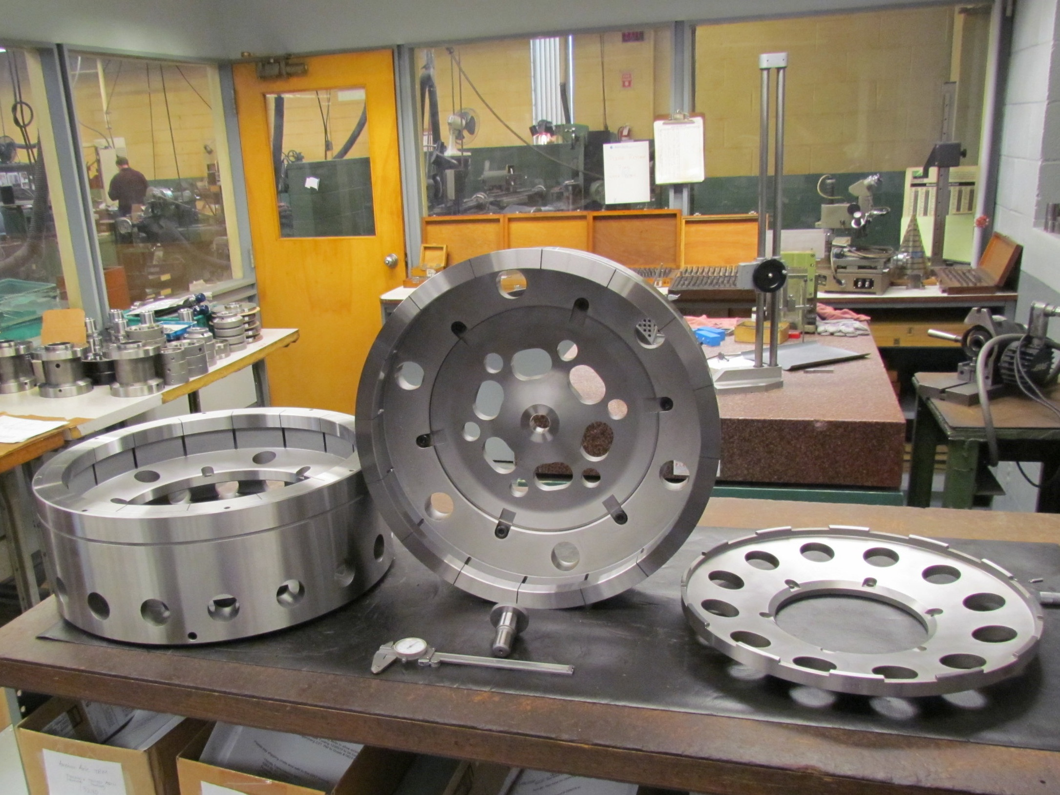 Shaping Workholding for Internal Ring Gear