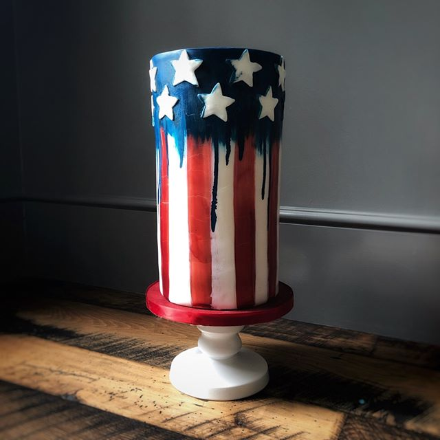 🇺🇸 Happy 4th of July y'all! 🇺🇸⠀⠀⠀⠀⠀⠀⠀⠀⠀ ⠀⠀⠀⠀⠀⠀⠀⠀⠀ This cake is on its way to 4th of July festivities! Inside is the most delicious red velvet cake with cream cheese filling, and gluten-free blue vanilla cake on top. Red white and blue all the way!⠀⠀⠀⠀⠀⠀⠀⠀⠀ ⠀⠀⠀⠀⠀⠀⠀⠀⠀ I'm going to jump in on today's #redwhitebluecollab2019–check it out for lots of other fantastic patriotic cakes 🇺🇸 •⠀⠀⠀⠀⠀⠀⠀⠀⠀ •⠀⠀⠀⠀⠀⠀⠀⠀⠀ •⠀⠀⠀⠀⠀⠀⠀⠀⠀ •⠀⠀⠀⠀⠀⠀⠀⠀⠀ #amazingcake⠀⠀⠀⠀⠀⠀⠀⠀⠀ #amazingcakes⠀⠀⠀⠀⠀⠀⠀⠀⠀ #austintx⠀⠀⠀⠀⠀⠀⠀⠀⠀ #cakeartist⠀⠀⠀⠀⠀⠀⠀⠀⠀ #cakedecorating⠀⠀⠀⠀⠀⠀⠀⠀⠀ #cakedesign⠀⠀⠀⠀⠀⠀⠀⠀⠀ #cakemaker⠀⠀⠀⠀⠀⠀⠀⠀⠀ #cakeoftheday⠀⠀⠀⠀⠀⠀⠀⠀⠀ #customcake⠀⠀⠀⠀⠀⠀⠀⠀⠀ #customcakes⠀⠀⠀⠀⠀⠀⠀⠀⠀ #edibleart⠀⠀⠀⠀⠀⠀⠀⠀⠀ #austincakes⠀⠀⠀⠀⠀⠀⠀⠀⠀ #atxcakes⠀⠀⠀⠀⠀⠀⠀⠀⠀ #instabake⠀⠀⠀⠀⠀⠀⠀⠀⠀ #luxurycakes⠀⠀⠀⠀⠀⠀⠀⠀⠀ #baker⠀⠀⠀⠀⠀⠀⠀⠀⠀ #cakeart⠀⠀⠀⠀⠀⠀⠀⠀⠀ #cakestagram⠀⠀⠀⠀⠀⠀⠀⠀⠀ #instacake⠀⠀⠀⠀⠀⠀⠀⠀⠀ #atx⠀⠀⠀⠀⠀⠀⠀⠀⠀ #austin⠀⠀⠀⠀⠀⠀⠀⠀⠀ #moderncake⠀⠀⠀⠀⠀⠀⠀⠀⠀ #bookofcake⠀⠀⠀⠀⠀⠀⠀⠀⠀ #designercake⠀⠀⠀⠀⠀⠀⠀⠀⠀ #cakephotography⠀⠀⠀⠀⠀⠀⠀⠀⠀ #austinevents⠀⠀⠀⠀⠀⠀⠀⠀⠀ #atxevents⠀⠀⠀⠀⠀⠀⠀⠀⠀ #austineventplanning⠀⠀⠀⠀⠀⠀⠀⠀⠀ #redwhiteandblue