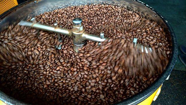 Freshly Roasted Coffee Every Week at 'Ailani Orchards! #coffee #organic #farm #hawaii #bigisland