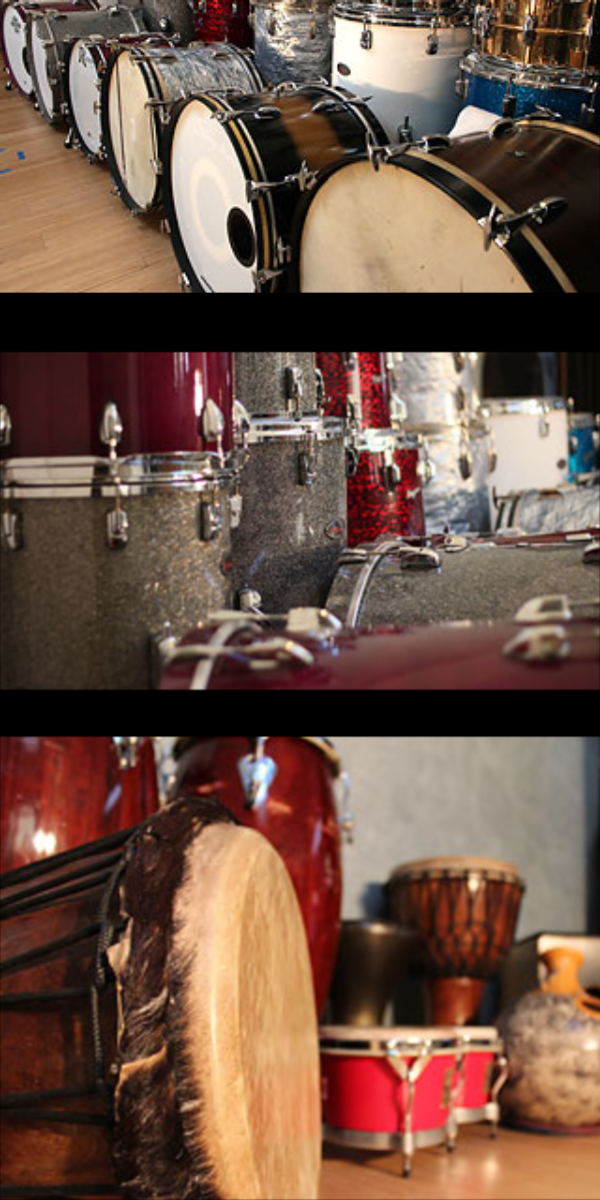 More… - SNARES1920's Ludwig&Ludwig One Ply Mahogany 5x14DW Collector's Edge 6x14 (Wood/Brass Shell) great for pop hip hop or funk!Pearl Steve Ferrone Brass 6.5x14(2) Slingerland Radio King 7x14 1ply 1939 and 40's (Beef and Thud)Tama SPL Vintage Steel 5.5x14Rogers Dynasonic 1966 (Brass 5.5x14) Punchy and preciseLudwig Acrolite 1970's 5x14 (Aluminum) Great twangLudwig Bronze 6.5x14 (Beef!)WFL 1952 Superclassic 6x14 (Twang)Tribes Custom Maple 6x13 deep wood hoop nice crack!Tribes Custom Mapl e3x 12 piccolo Great crack with character.Tribes Custom Maple 6x10