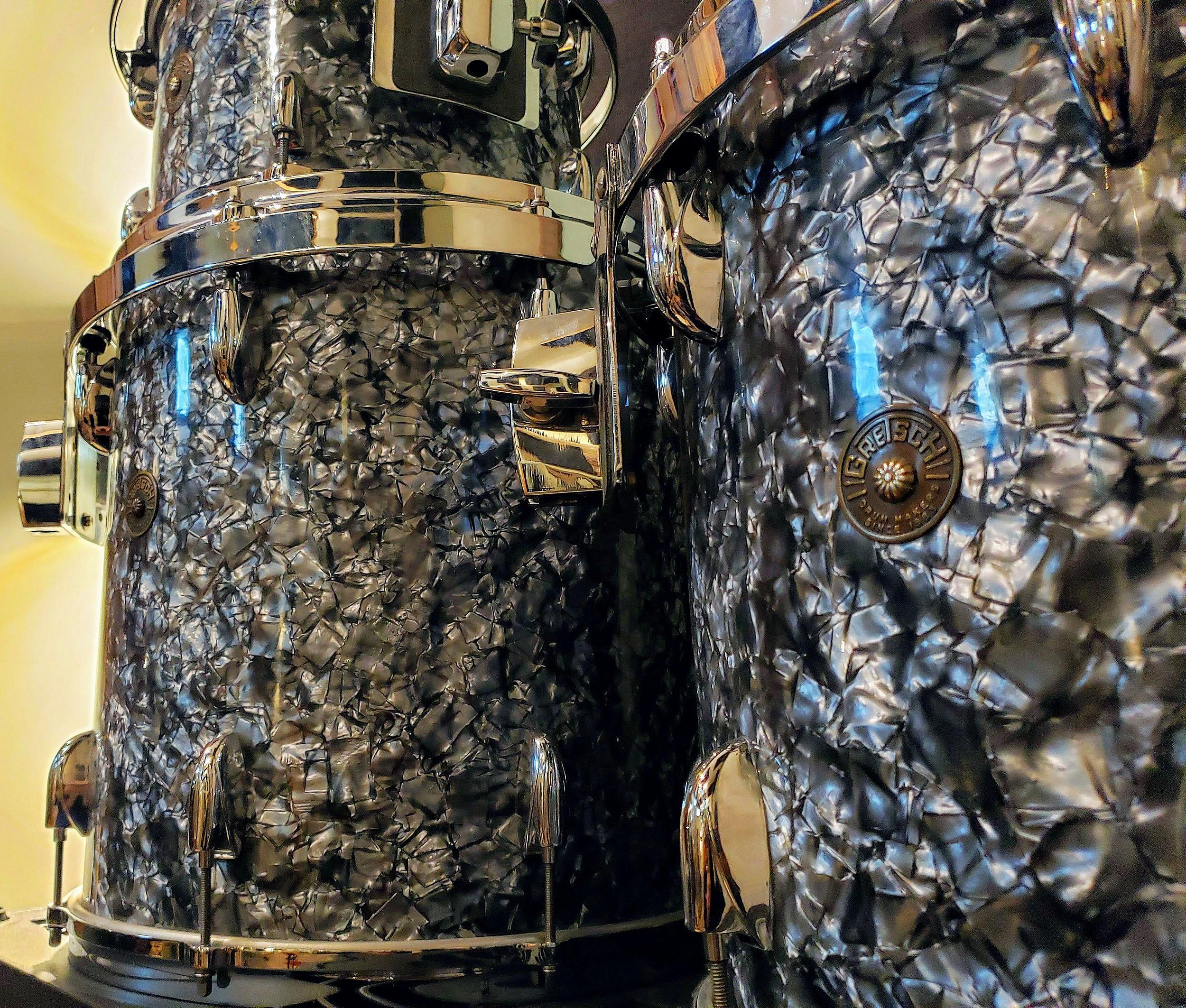 Vintage Drums - Gretsch Round Badge 60's 12, 13, 14, 16, 221950's WFL w/Calskin Heads 22
