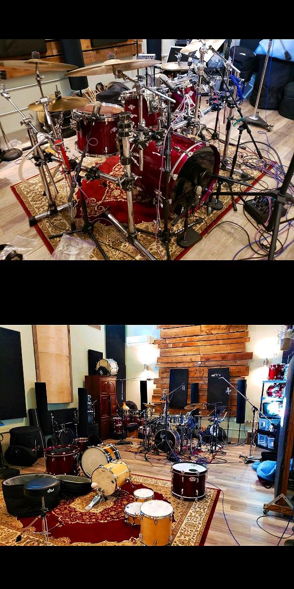 Cymbals - Sabian Cymbals:Hi Hats: 12