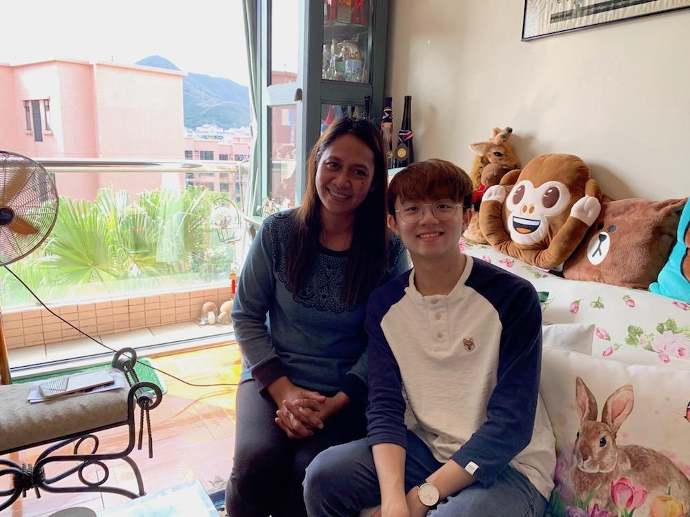 Fredelyn and 胡嘉熙WU Ka Hei